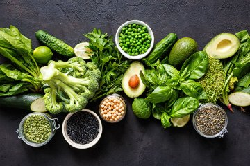 כשהעור אדום נאכל ירוק – מזונות מומלצים לרוזציאה